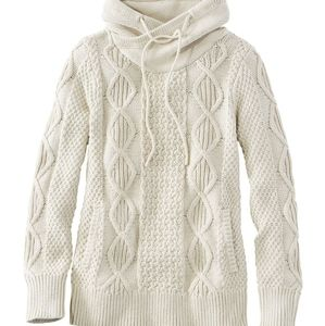 NwT LL Bean Signature Funnelneck Sweater Small